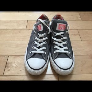 Converse canvas gray floral lining sneakers 10